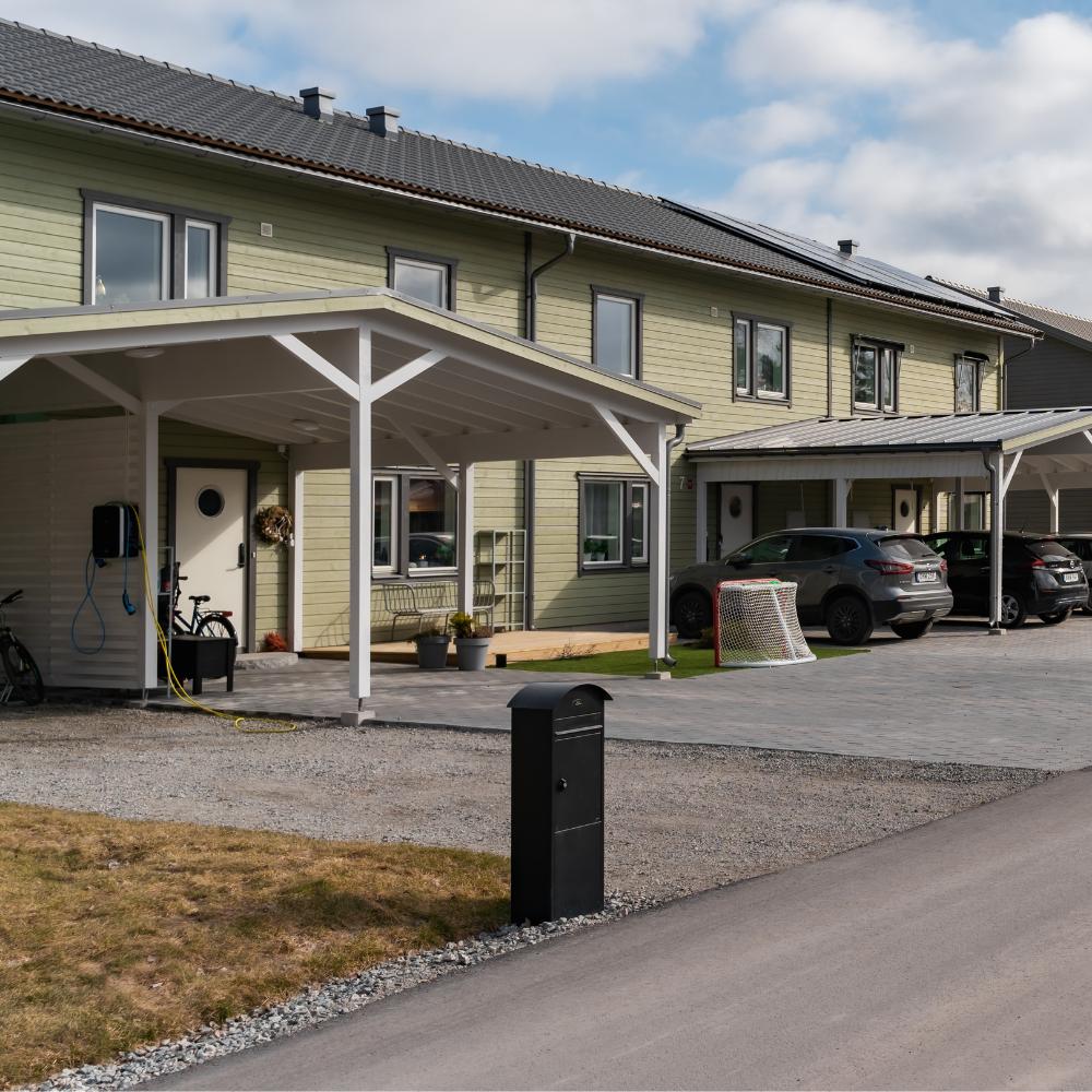 Västanfors Hus - Totalentreprenör Frånluftsvärmepump Referensprojekt